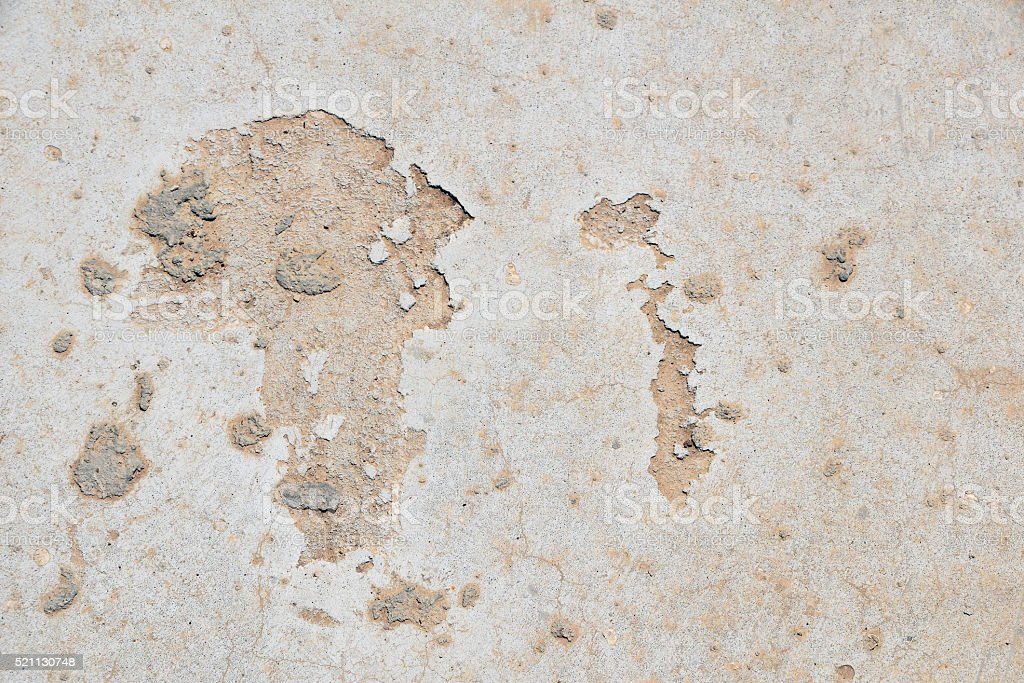 Africa shaped defects in grunge concrete royalty-free stock photo