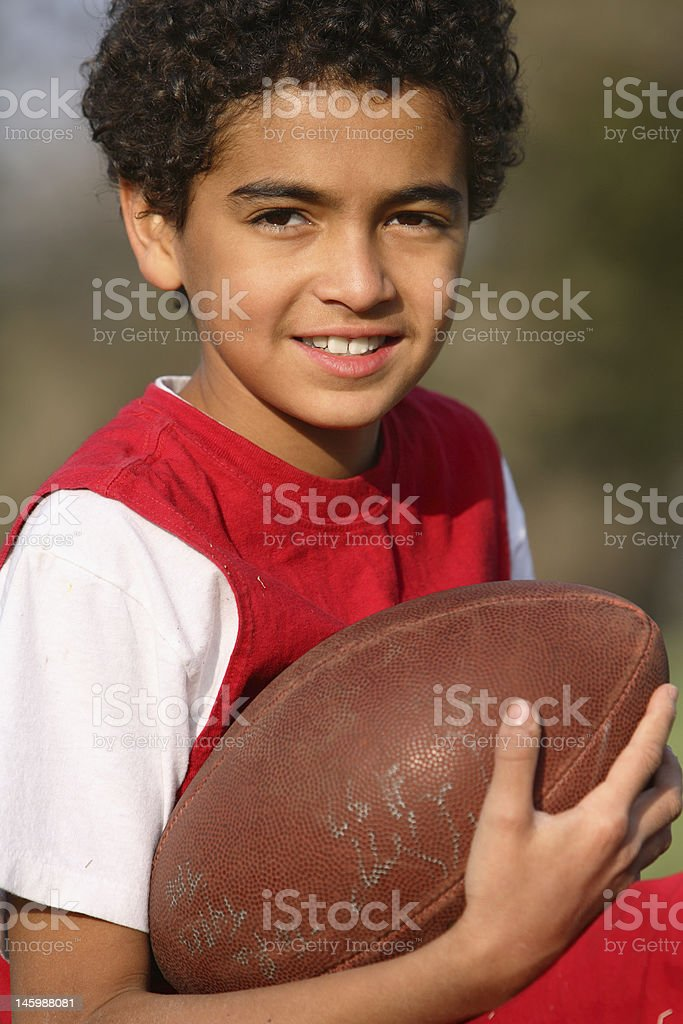African American Boy royalty-free stock photo