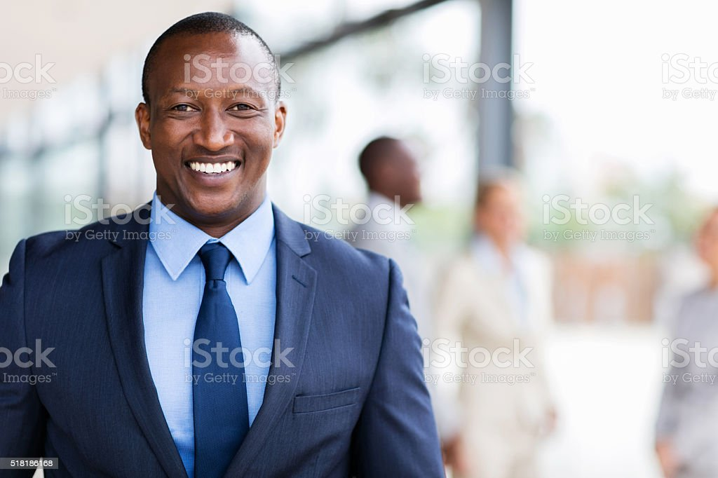 african american business man stock photo