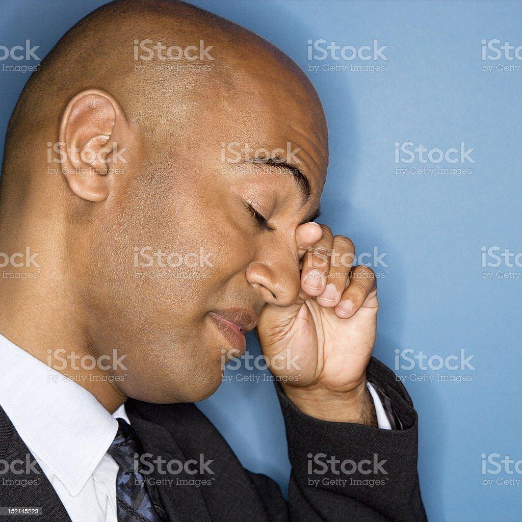 African American businessman. stock photo