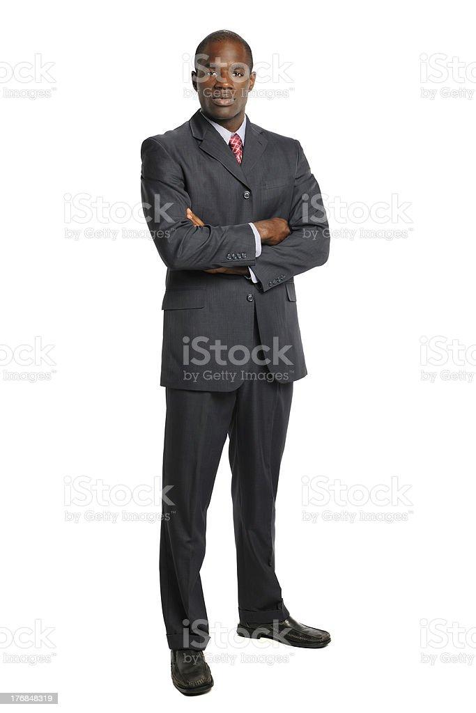 African American Businessman stock photo