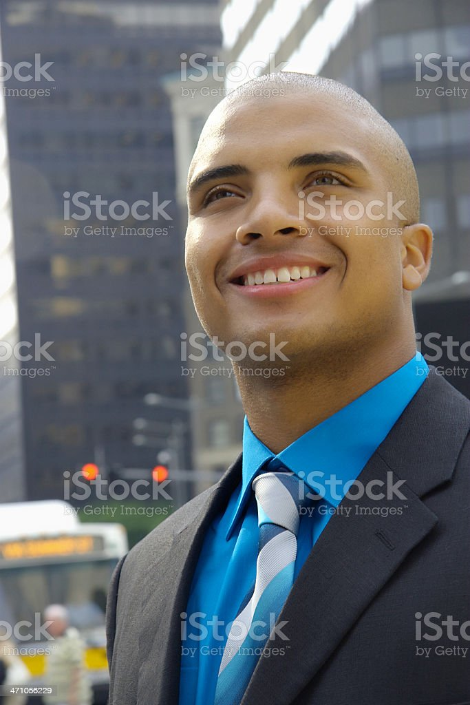 African American Businessman Series royalty-free stock photo