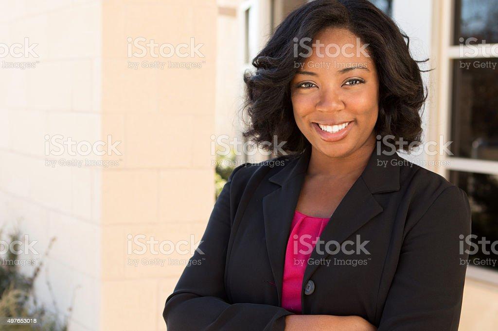 African American Businesswoman stock photo