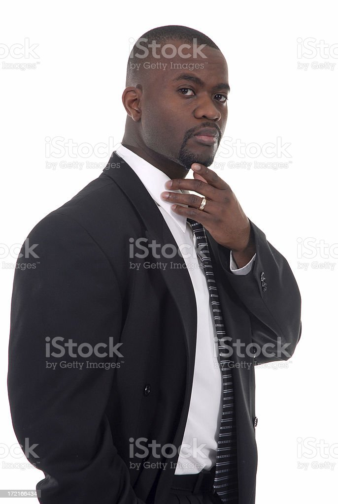 African American CEO royalty-free stock photo