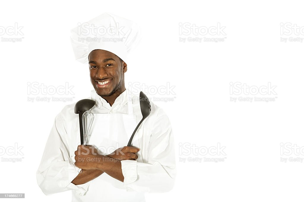 African American Chef royalty-free stock photo
