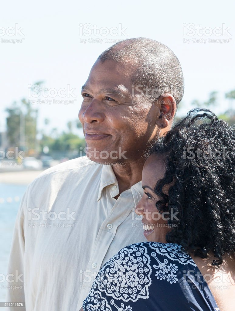 African American Couple stock photo