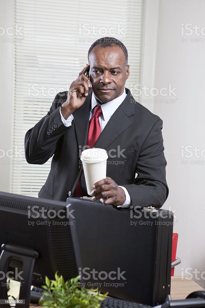 African American Executive royalty-free stock photo