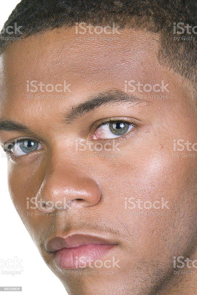 African American Male Portrait stock photo