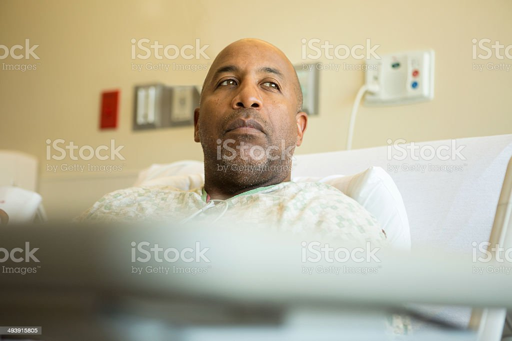 African American Patient stock photo