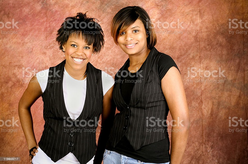 african american portraits stock photo