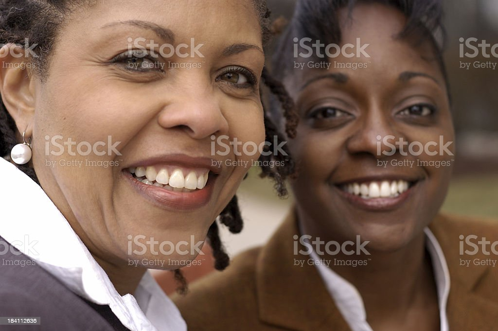 African American professionals stock photo