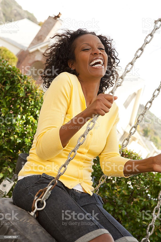 African American Woman royalty-free stock photo