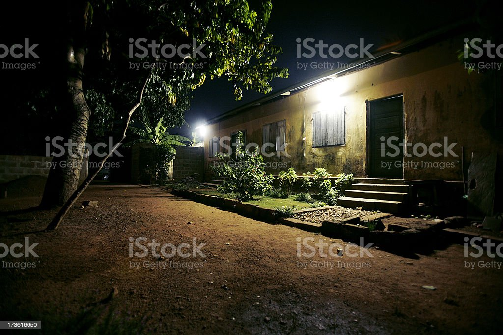 african backstreets royalty-free stock photo