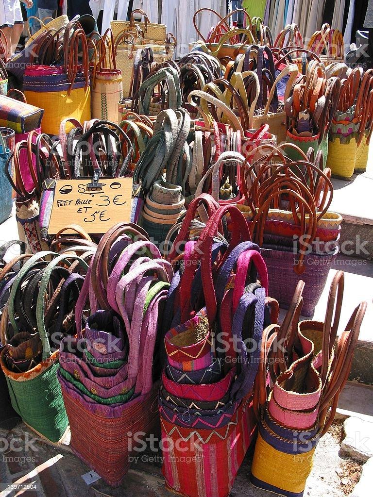 Cestas africano foto de stock libre de derechos
