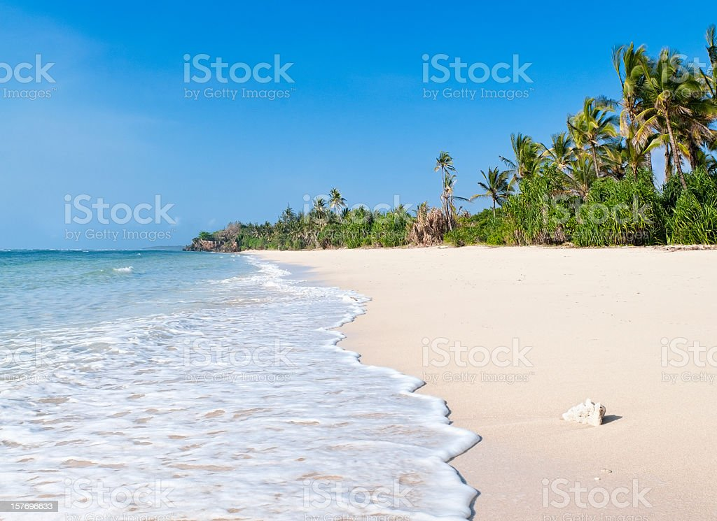 African Beach stock photo