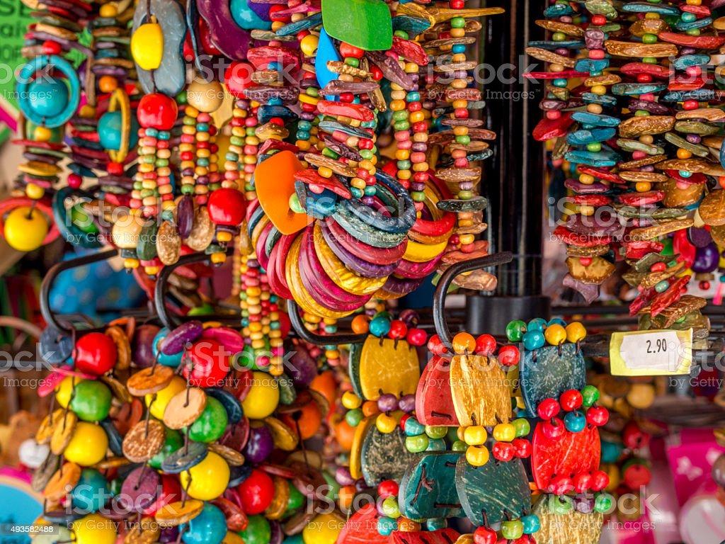 African Beaded jewellery stock photo
