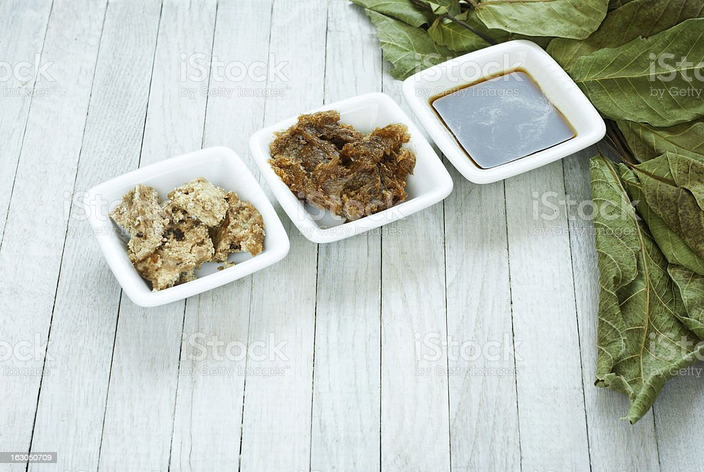 African black soap stock photo