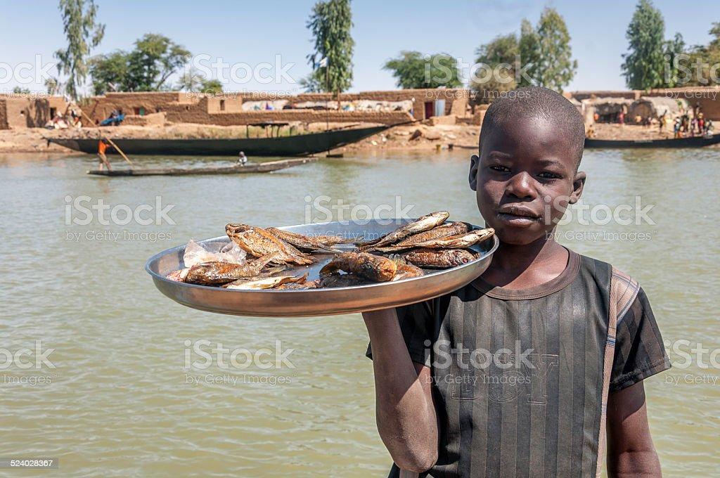 African boy stock photo