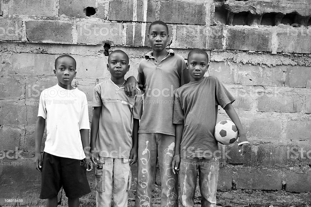 African Boys royalty-free stock photo