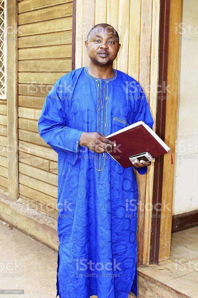 African business man royalty-free stock photo