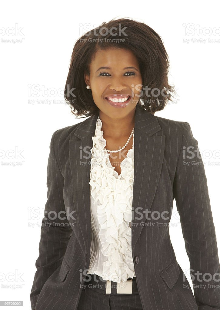 African Businesswoman stock photo