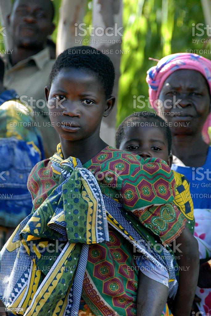african children stock photo