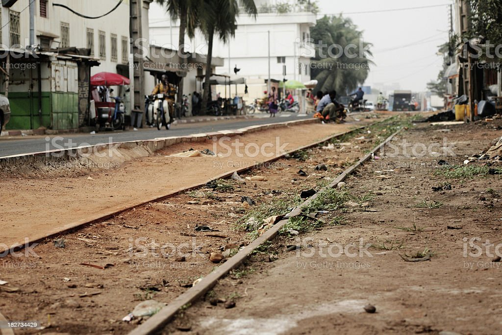african city stock photo