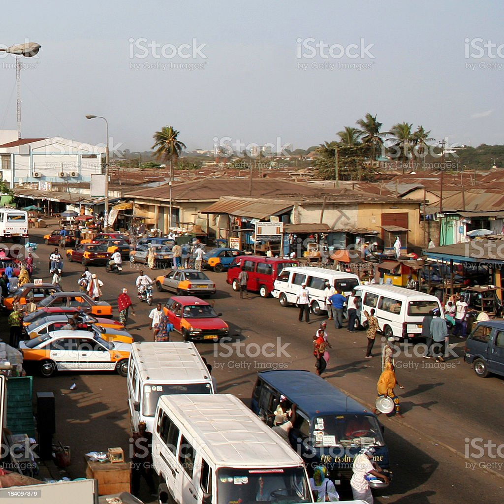 african city traffic royalty-free stock photo