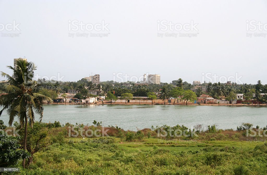 african city view 2 stock photo