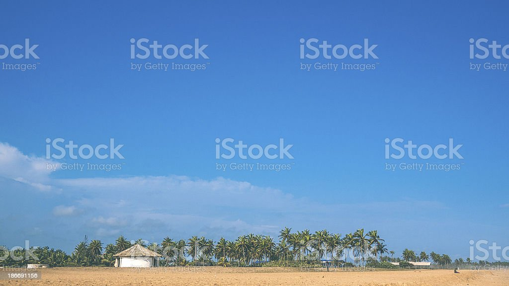 African coast. royalty-free stock photo
