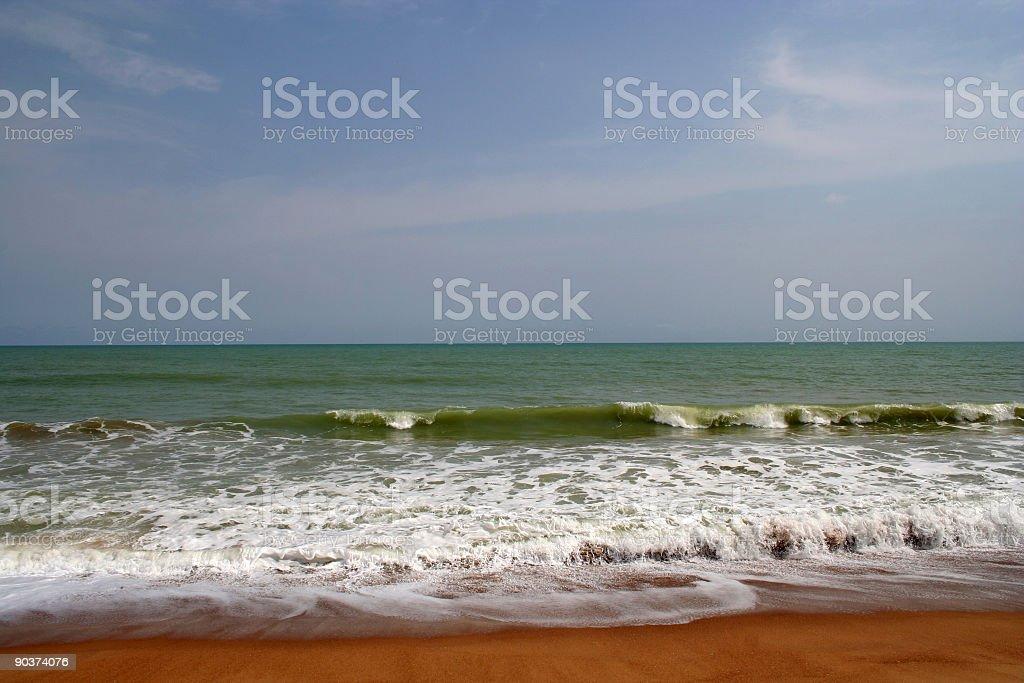 african coast stock photo