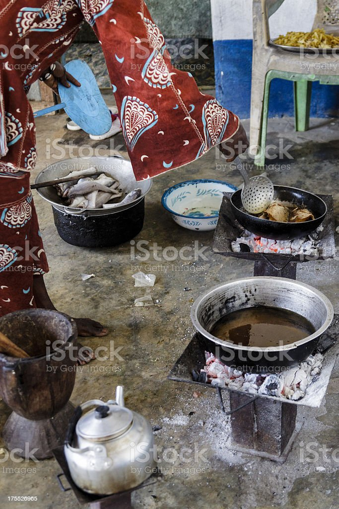African cuisine royalty-free stock photo