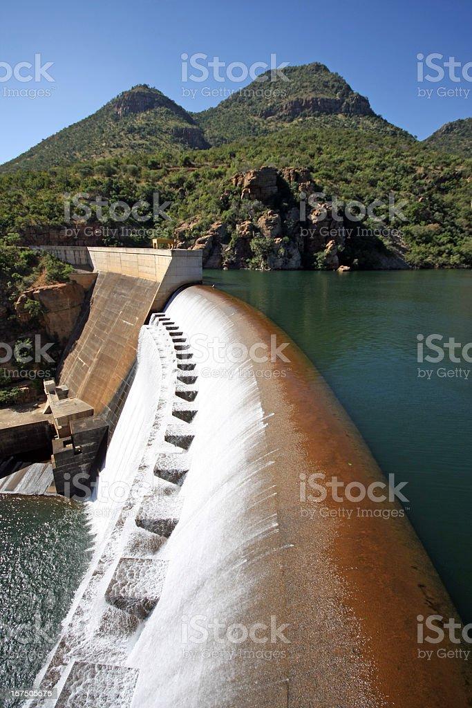 african dam stock photo