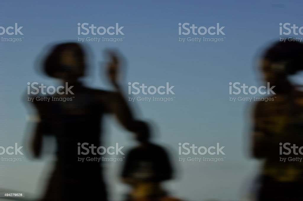 African dancers royalty-free stock photo