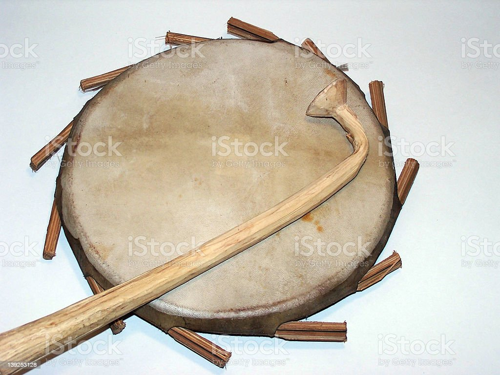 African Drum stock photo