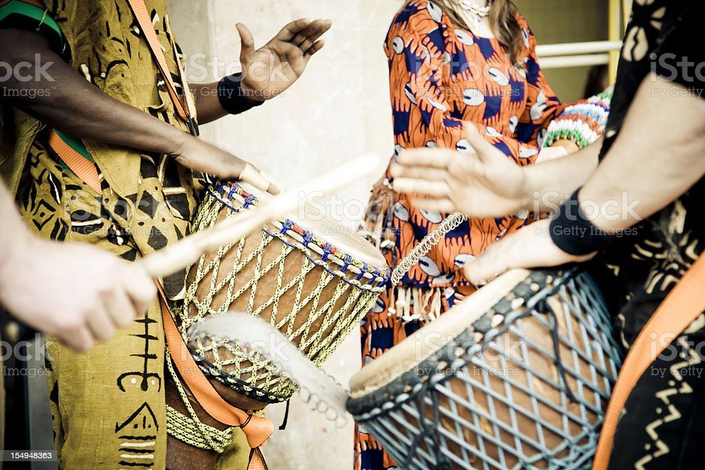 african drum royalty-free stock photo