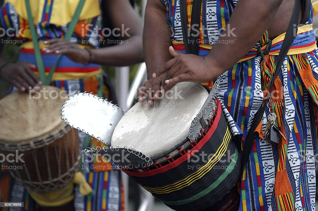 African drummer 2 stock photo