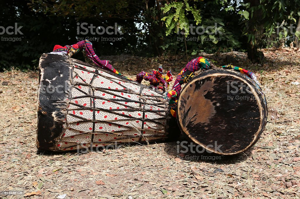 African drums, Ethiopia stock photo