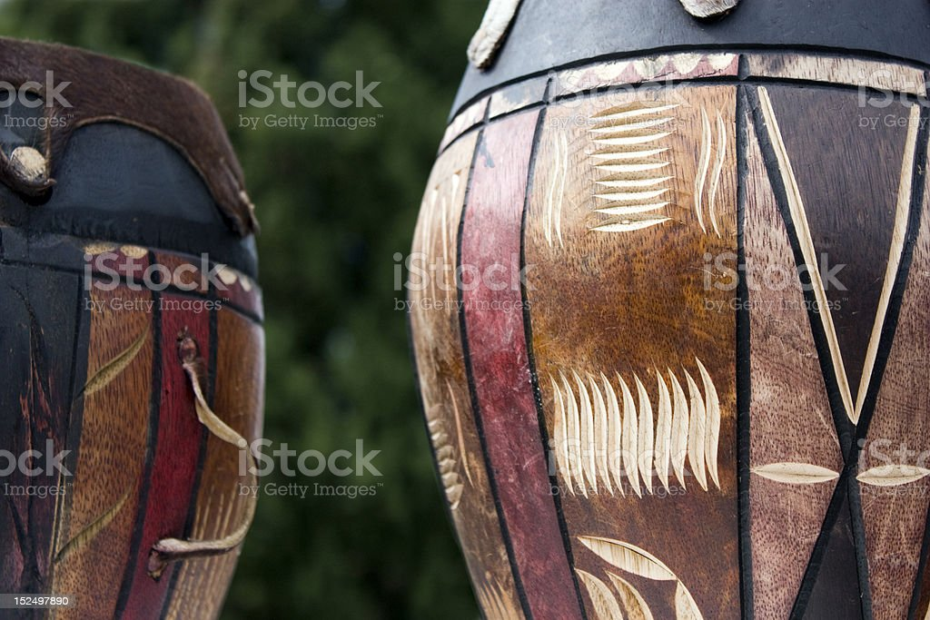 African drums royalty-free stock photo