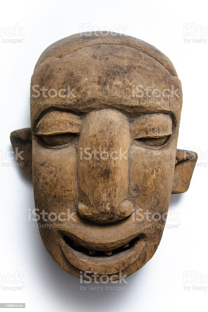 African face mask royalty-free stock photo