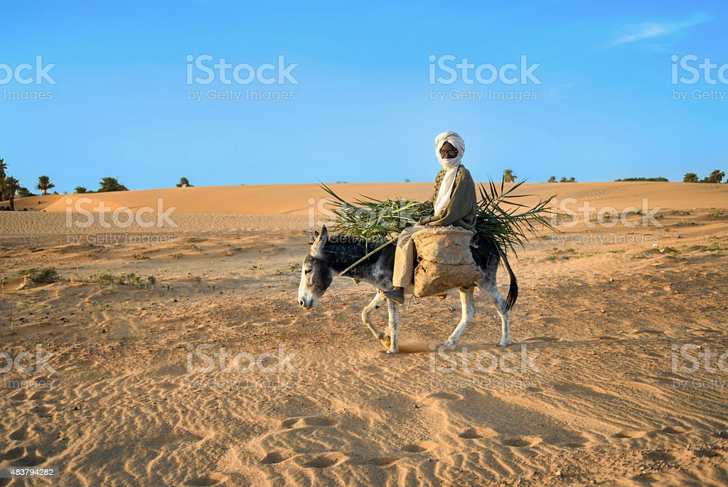 African farm worker stock photo