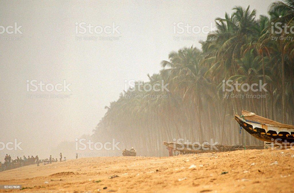 african fishingboats royalty-free stock photo