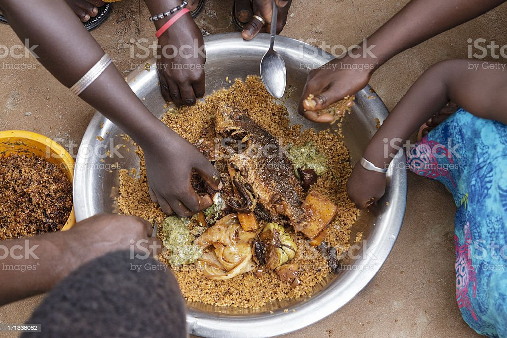African food stock photo