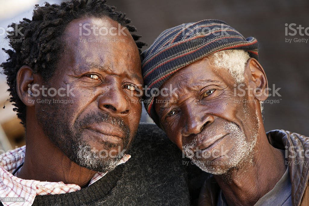 African friendship royalty-free stock photo