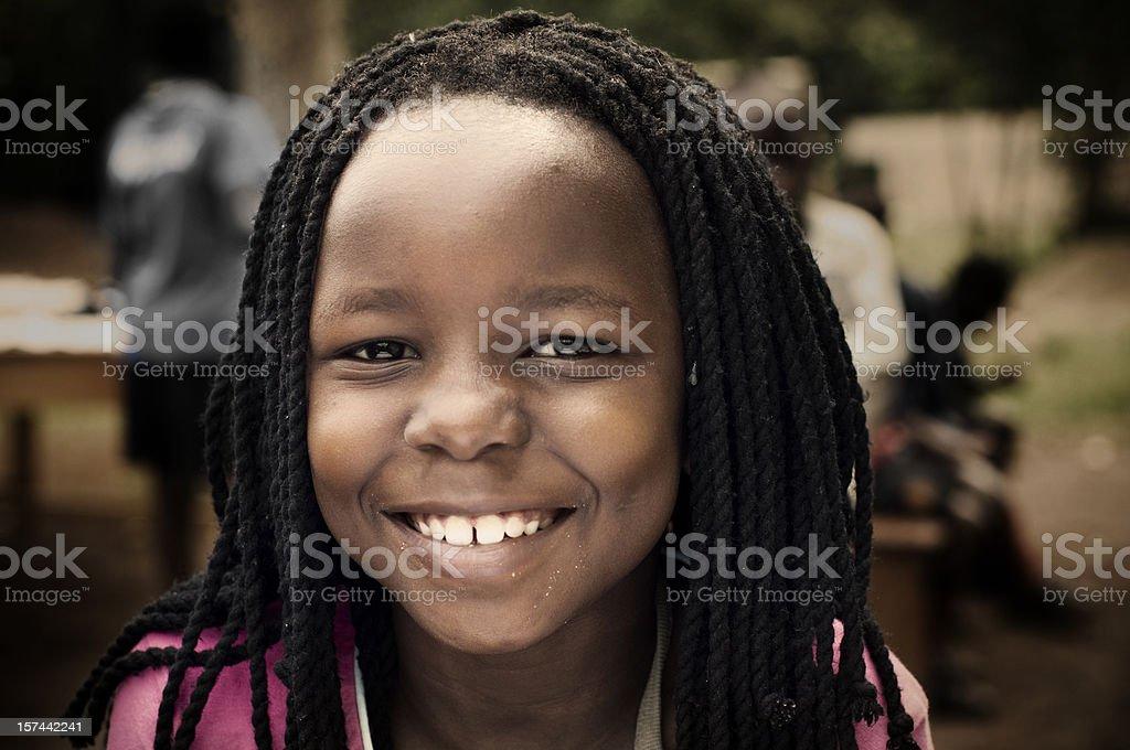 African girl stock photo