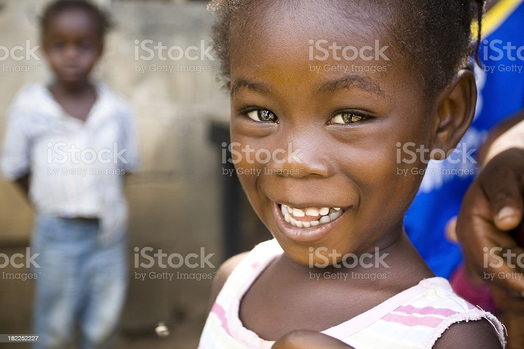 African Girl royalty-free stock photo