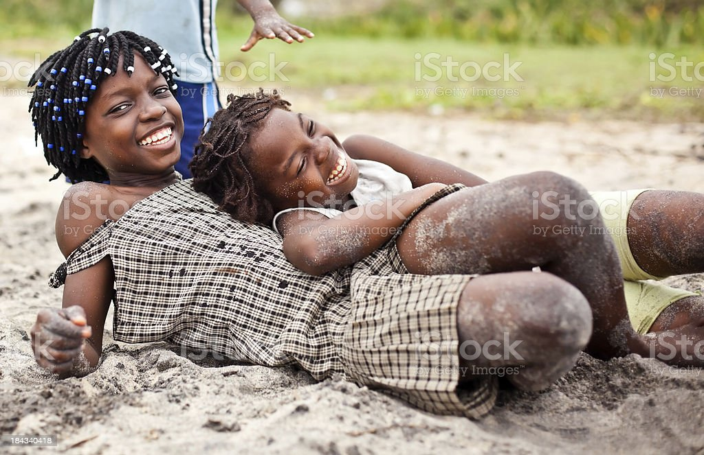 African Girls royalty-free stock photo