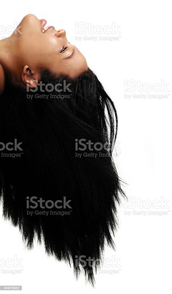 African hair beauty stock photo