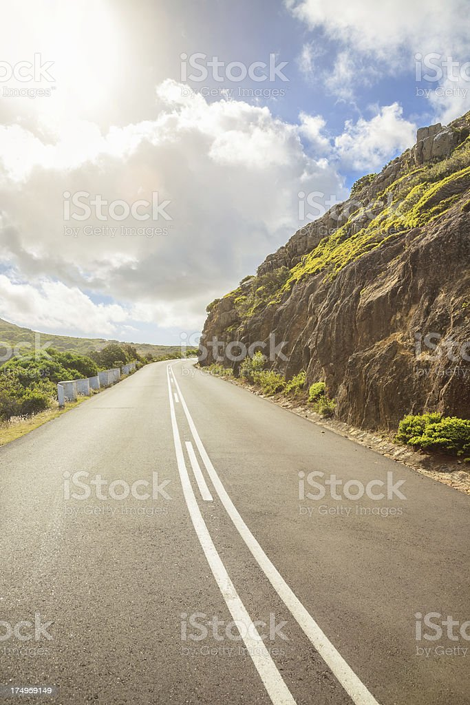 African Highway Cape Town stock photo
