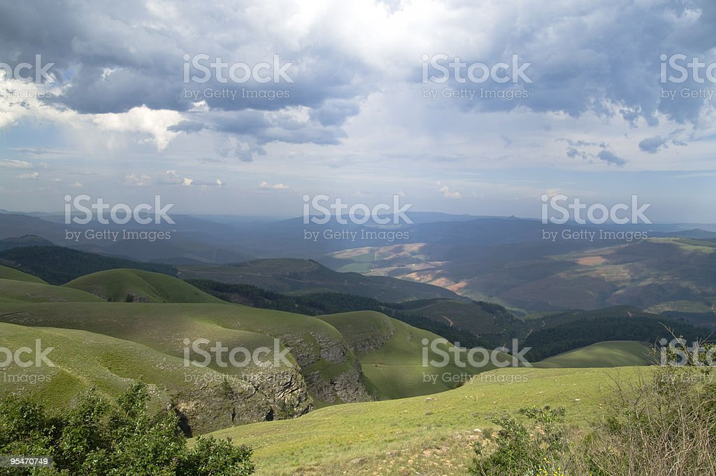 African Hills royalty-free stock photo